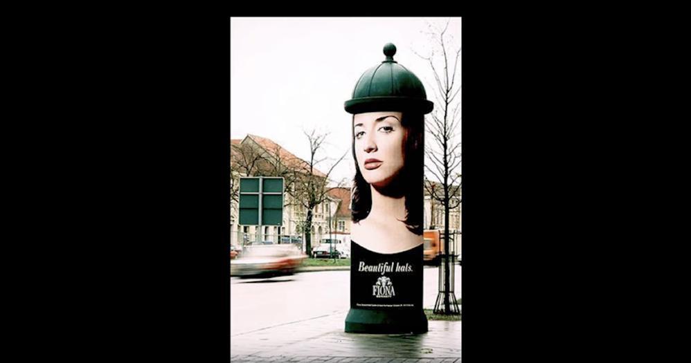 Реклама магазина шляп