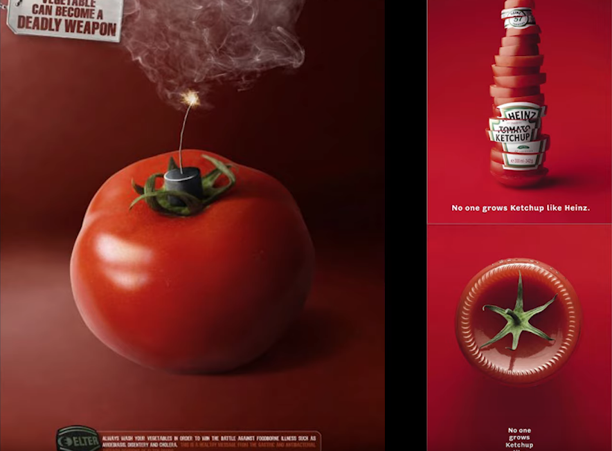 Реклама хайнс и качественных продуктов