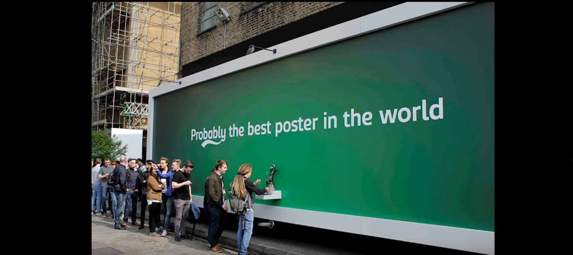 Реклама пивного бренда