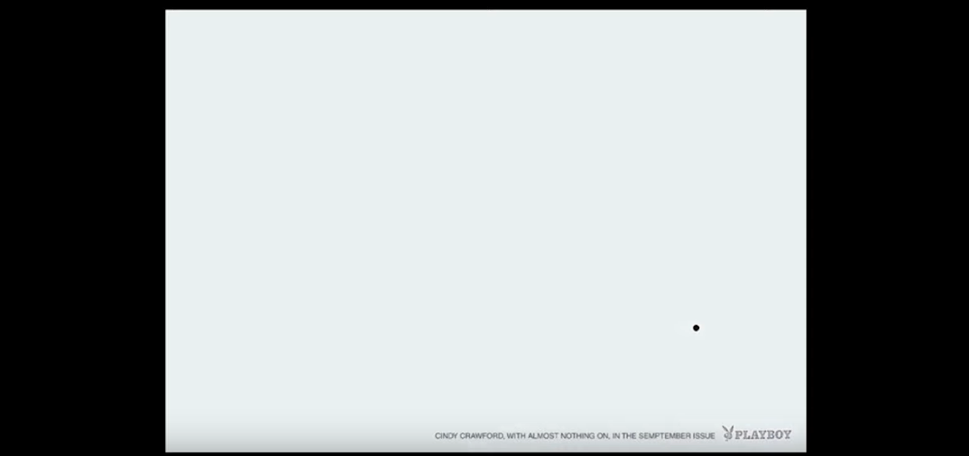 Реклама Cинди Кроуфорд в playboy