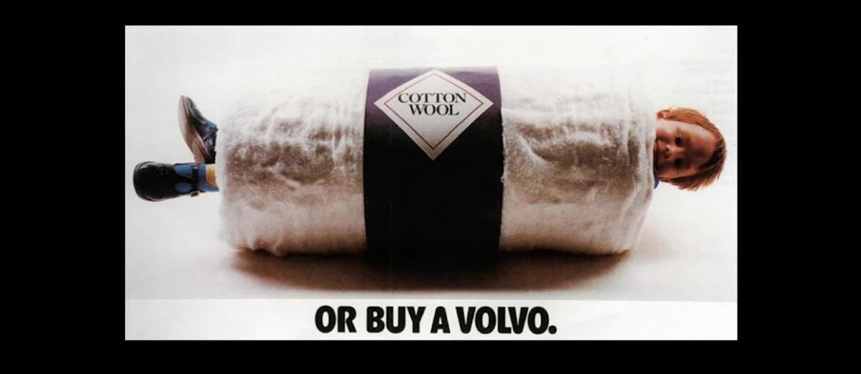 Реклама безопасности Volvo