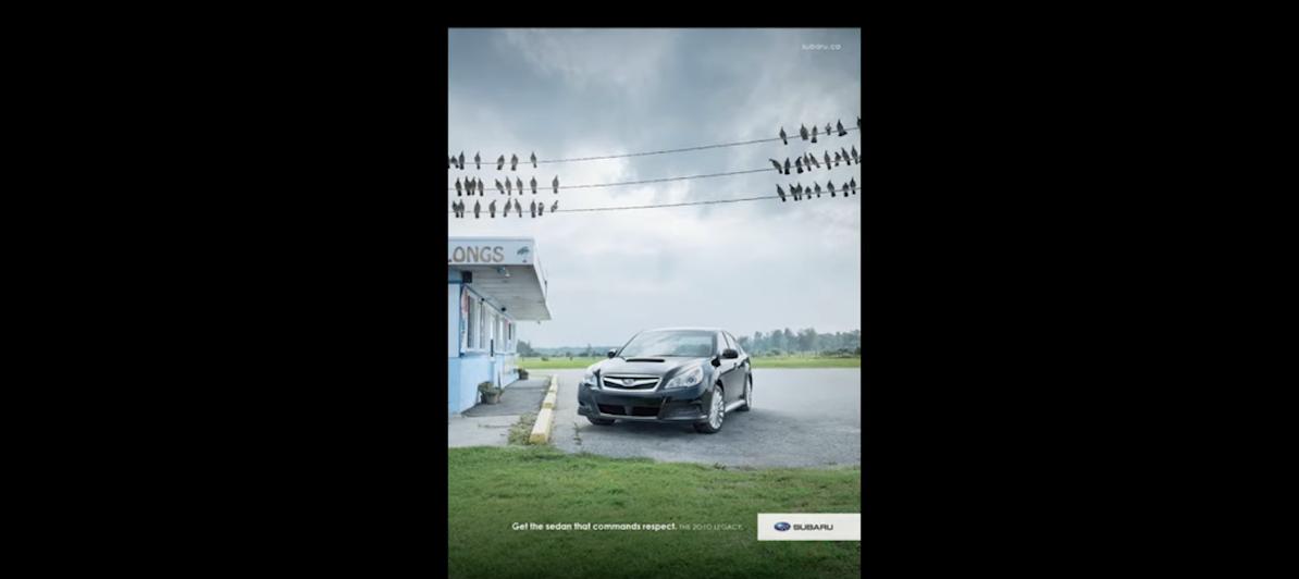 Реклама Субару